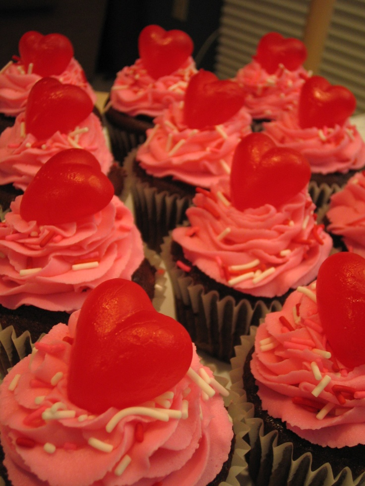 valentine cupcakes to send