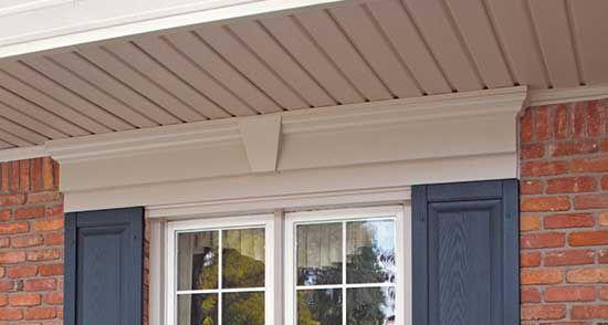 Window header lintel exterior for the home pinterest for Window header