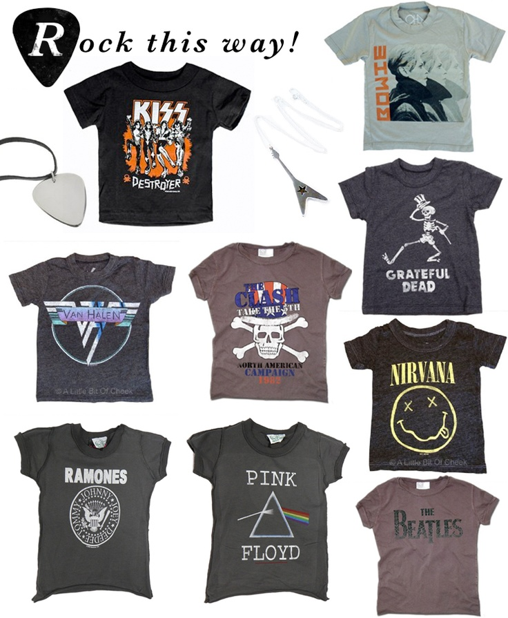 Kids Band T Shirts On Minor De Tales We Are Famous