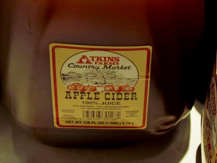Atkins farms cider