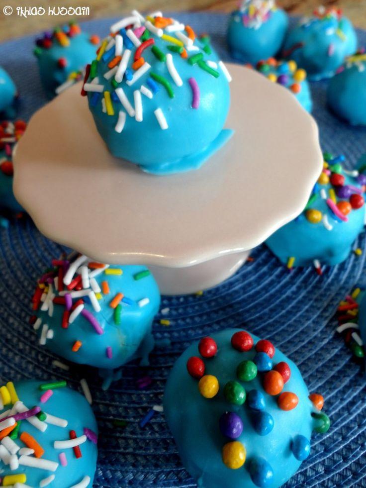 how to make vanilla cake balls