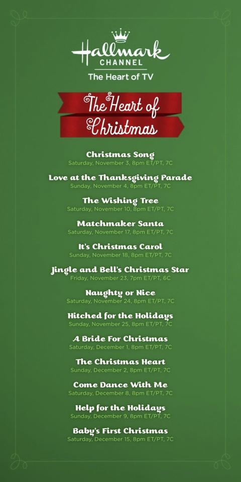 Hallmark channel christmas movies movies pinterest for Hallmark channel christmas movie schedule