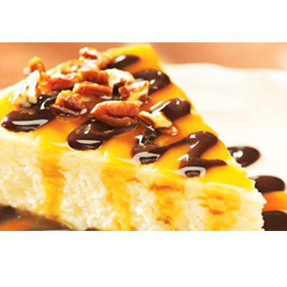 Orange Cheesecake with Orange Caramel Sauce Recipe from Mamma's ...
