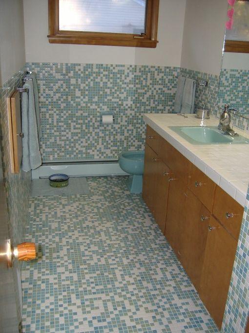 Mid Century Modern Bathroom Design Endearing Design Decoration