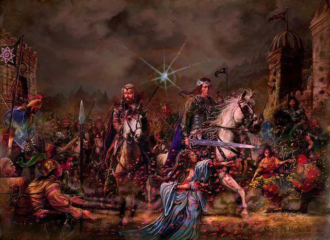 King Arthur Paintings