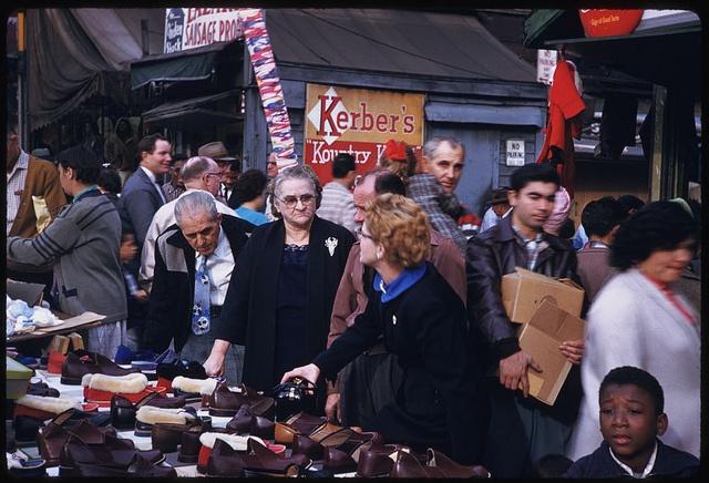 Sunday on Maxwell Street, 1958 - Chicago, Illinois