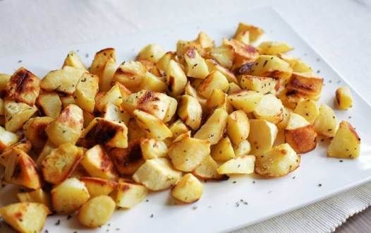 """Roasted Parsnips with Rosemary 