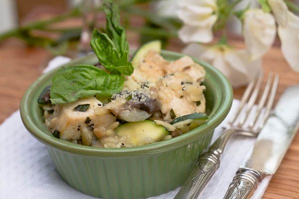 Springtime Risotto | Poultry | Pinterest