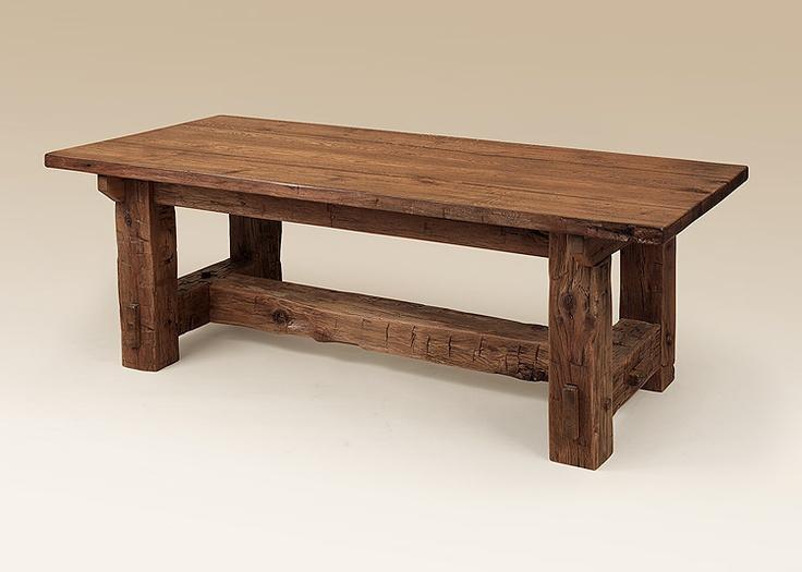 Designer barn wood table diy tables pinterest for Diy barn table