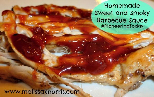 ... to Make Your Own Sweet and Smoky Barbecue Sauce « Melissa K. Norris