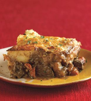Shepherd Pie with Parsnip Topping-- one of our meals for this week ...