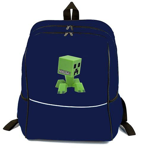 MINECRAFT BAG BACKPACK SCHOOL/ COLLEGE/ TRAVEL/ CAMPING CAPACITY 18 ...