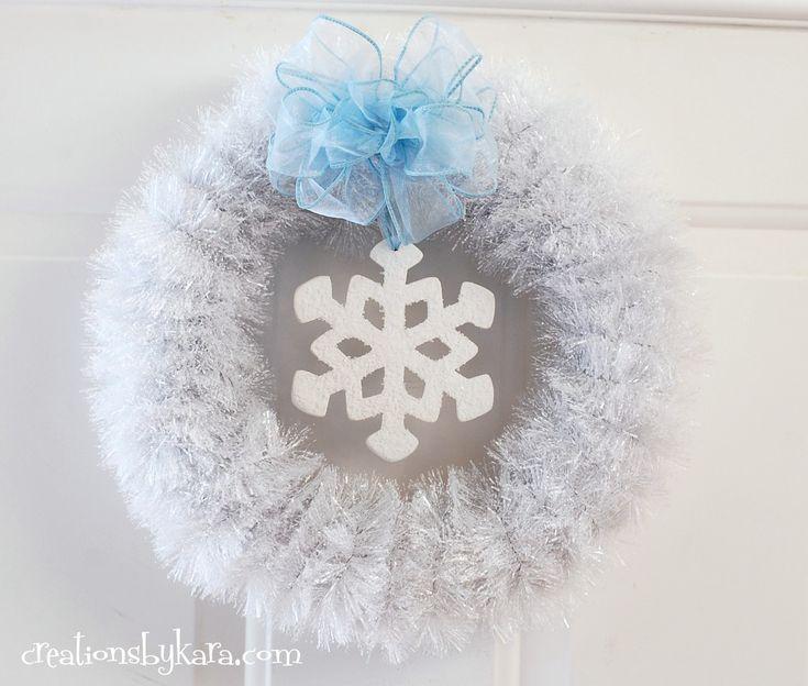 White Wreath Winter Wreath