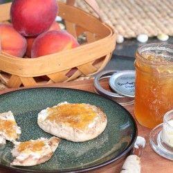 Bourbon Peach Jam | Fabulous Fruits | Pinterest