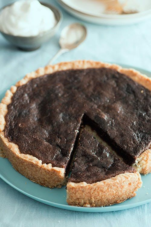 Chocolate Chess Pie | Cooking for the beach.. | Pinterest