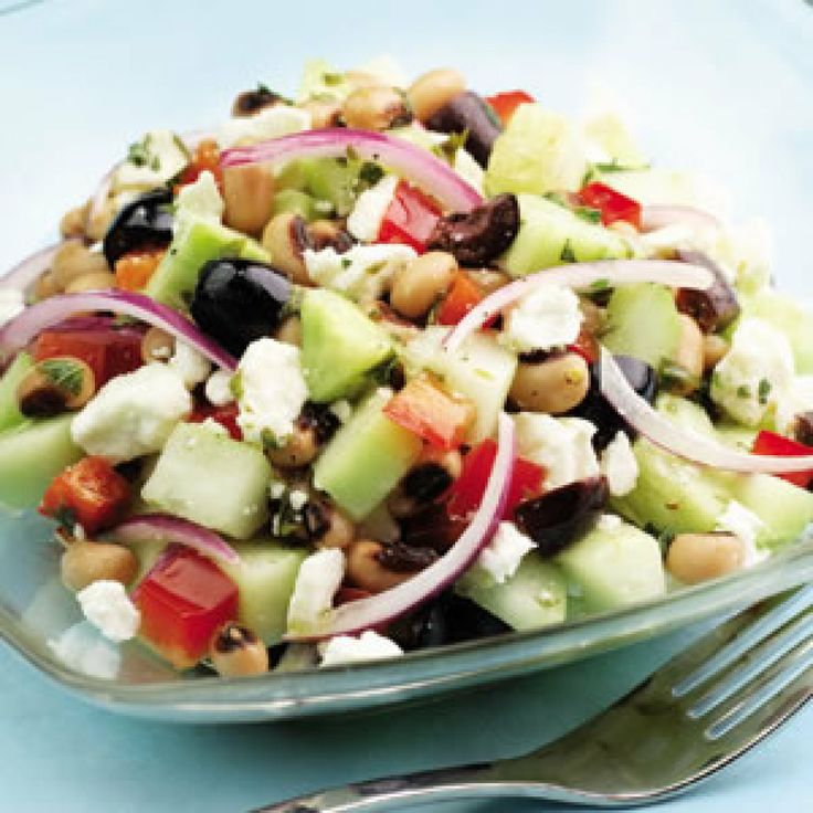 Cucumber & Black-Eyed Pea Salad   Recipe