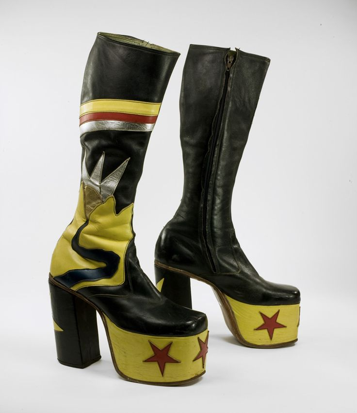 70s Glam Rock Boots BOOTY Pinterest