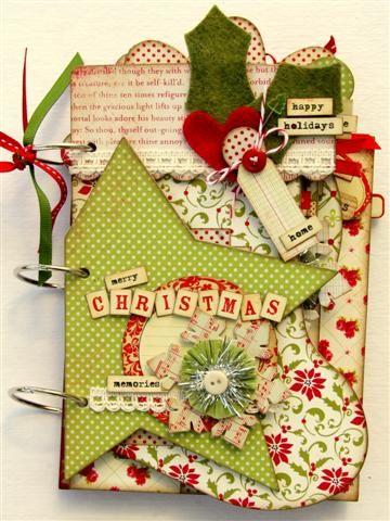 christmas mini book idea