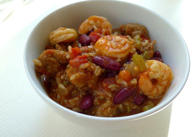 Shrimp and Sausage Jambalaya | Seafood Recipes | Pinterest