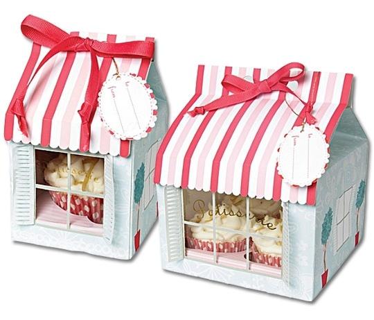 Meri Meri patisserie cupcake boxes