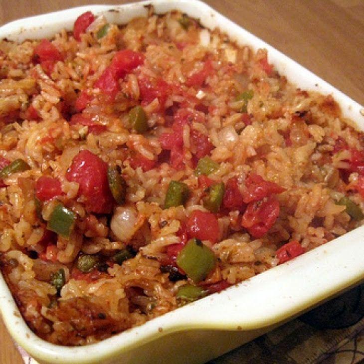 Spanish Rice Bake Recipe | Food | Pinterest