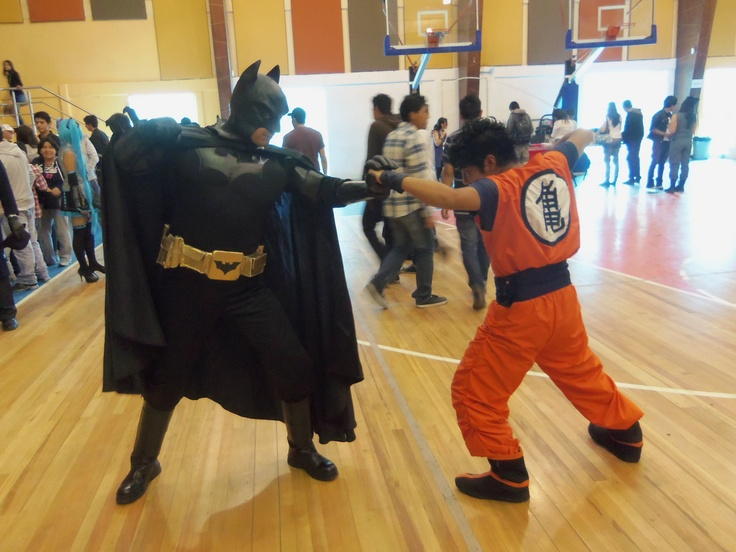 batman vs goku | AKIRA AMBATO 2013 | Pinterest