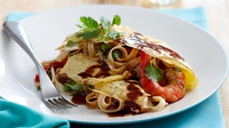 Pad Thai Omelette Recipe — Dishmaps