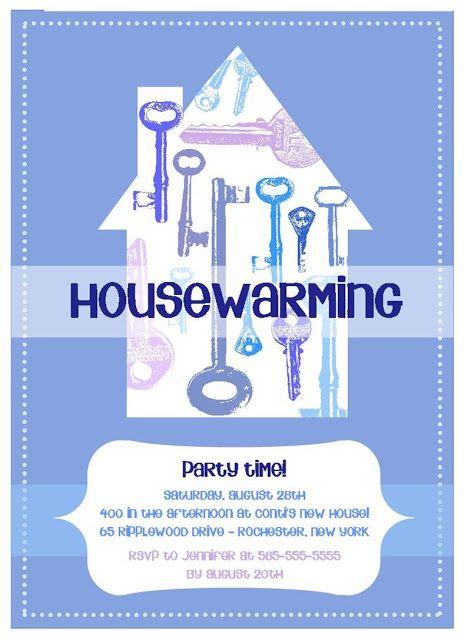 Invitation Housewarming was nice invitation layout