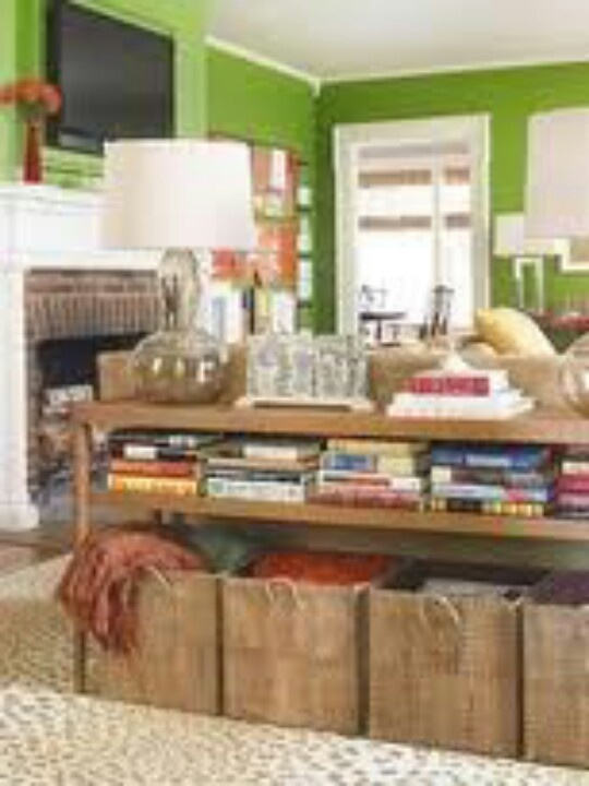 Organized living room living room ideas pinterest for Living room organization