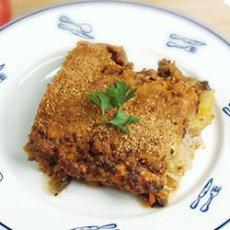 Layered Eggplant Hamburger Casserole | Food...food...food | Pinterest