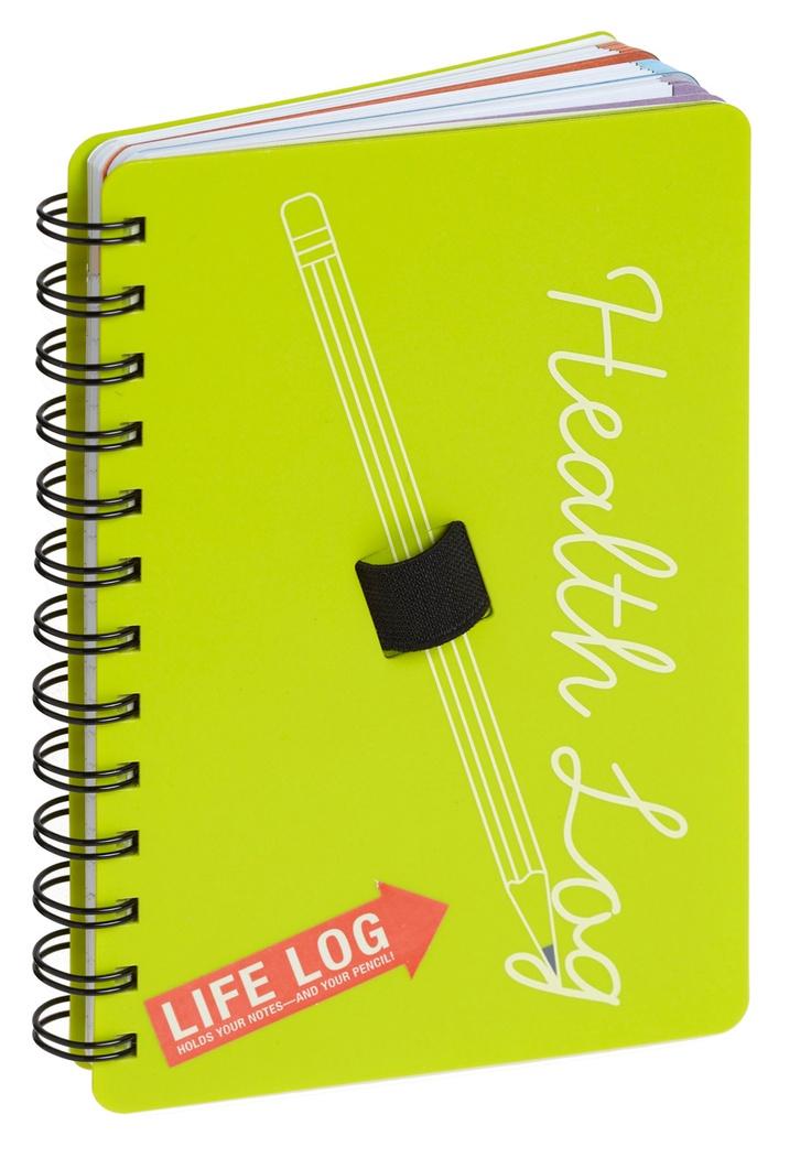 Write Away Health Journal   Mod Retro Vintage Stationery   ModCloth.com