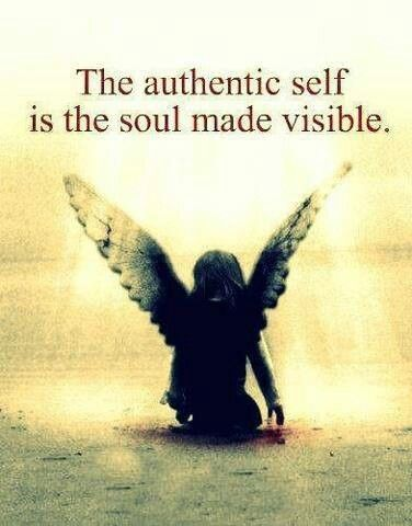 ...BE AUTHENTIC