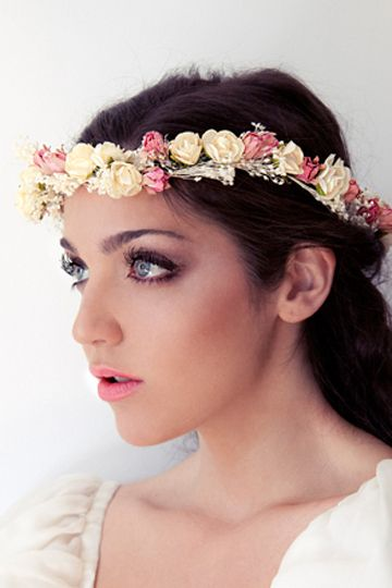 Una corona de flores boda pinterest - Coronas de flore ...