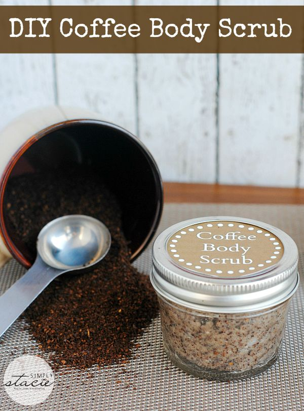 DIY Coffee Body Scrub - so invigorating and refreshing!
