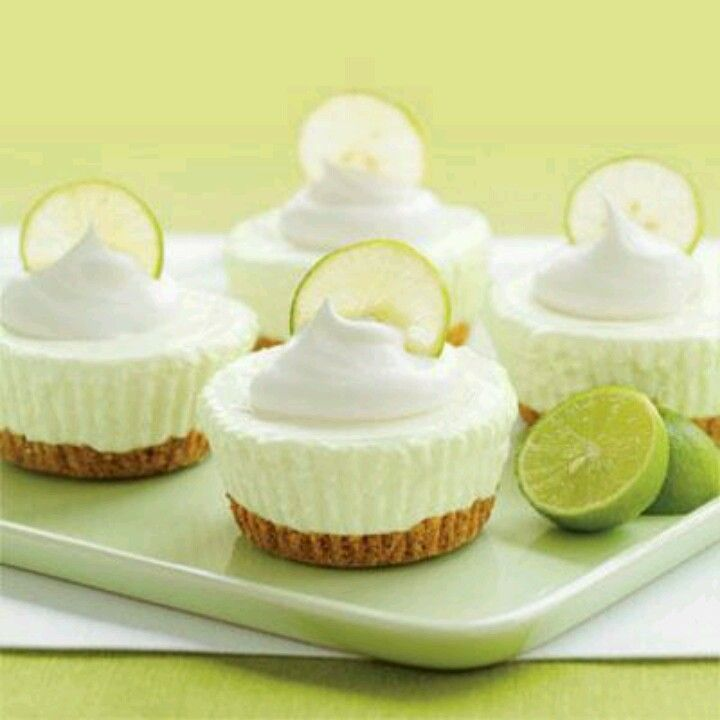 Mini Key Lime Cheesecakes | Favorite Recipes | Pinterest