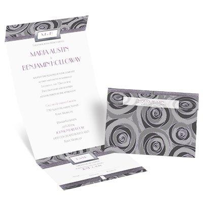 seal and send wedding invitation david tutera at invitations by dawn