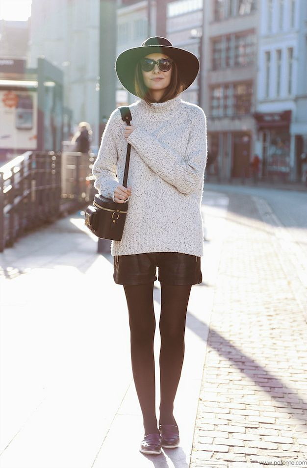 Shorts + tights.