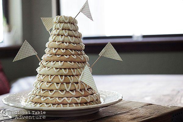 Scandinavian Ring Cake | Kransekake | Recipe