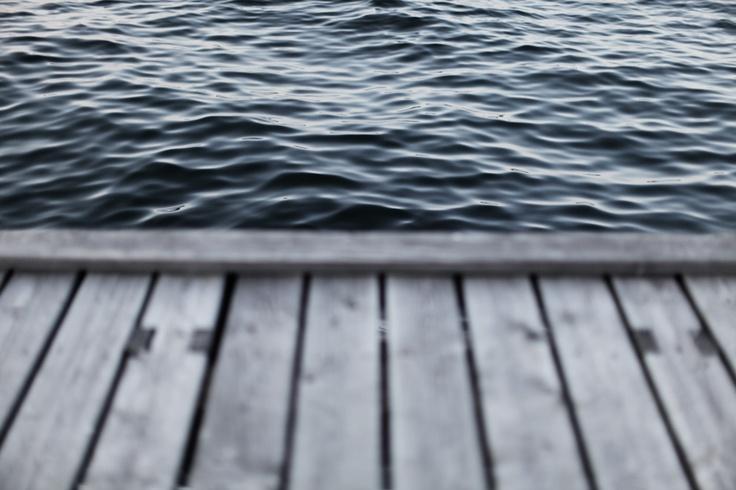 Near water