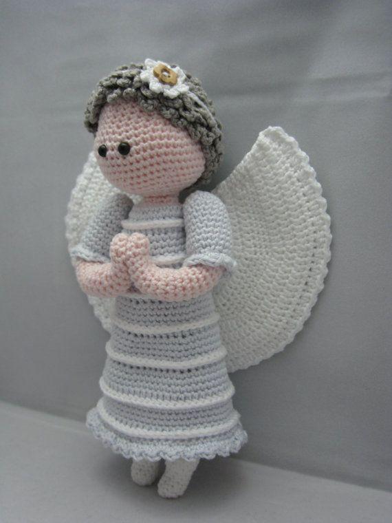 Angel En Amigurumi : Guardian Angel (Instant download Amigurumi doll crochet ...