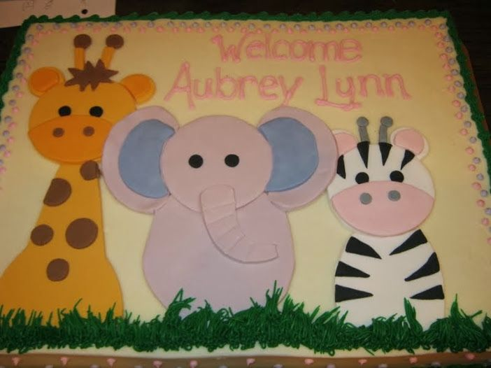 Sheet Cakes. Baby Shower ...