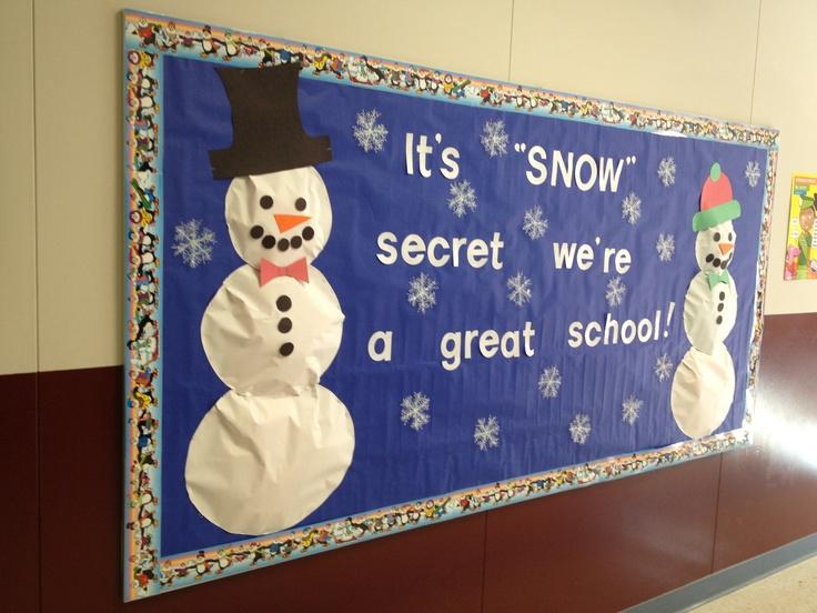 January bulletin board | School nurse bulletin board | Pinterest
