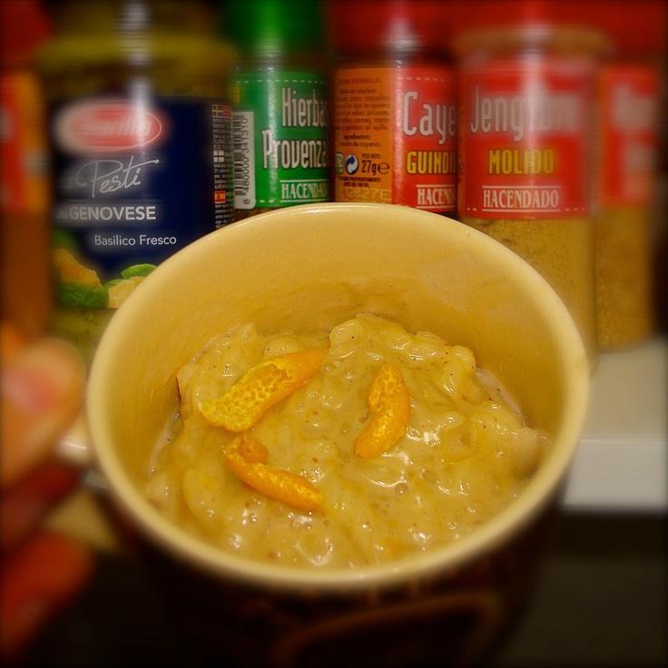 Lemon & Ginger Rice Pudding   - from the blog -   Pinterest