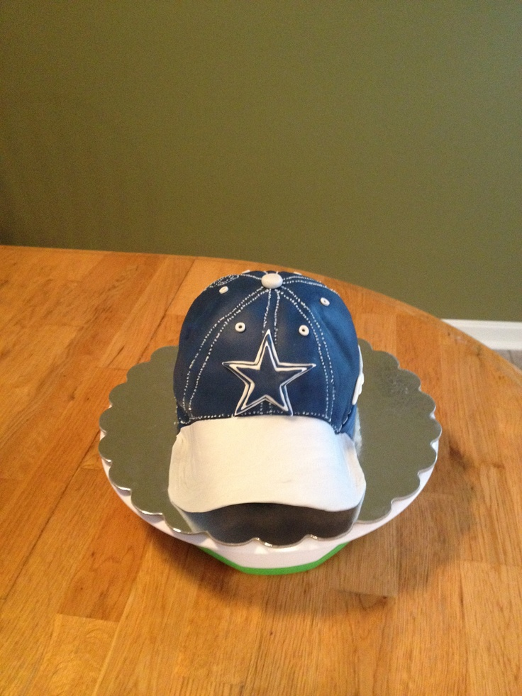 Pin Dallas Cowboys Cake Topper Visit Www Cake On Pinterest