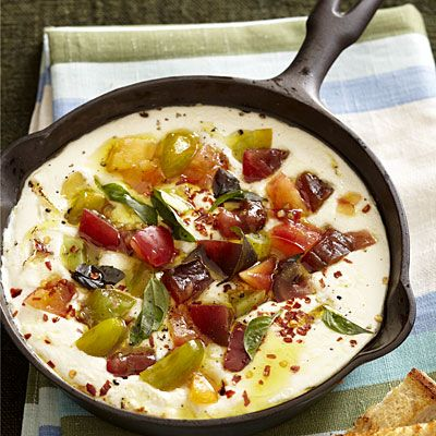 ... Ricotta? Baked Ricotta with Roasted Garlic and Tomatoes | health.com