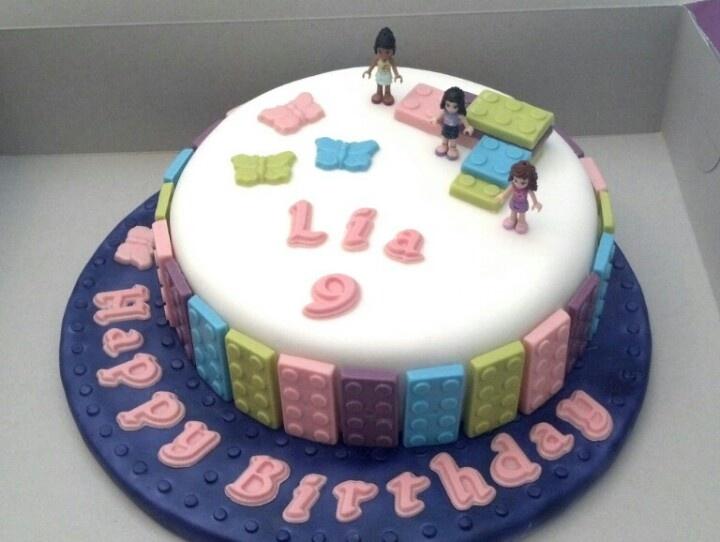 girly Lego cake!