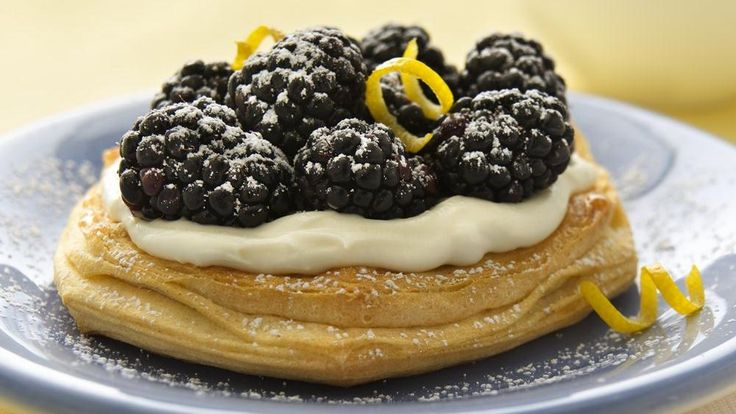 Blackberry, Lemon, And Gingersnap Cheesecake Pudding Recipe ...