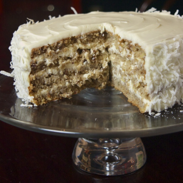 hummingbird cake with coconut recipes pinterest