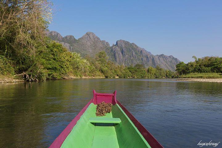 Đi thuyền khám phá sông Nam Song