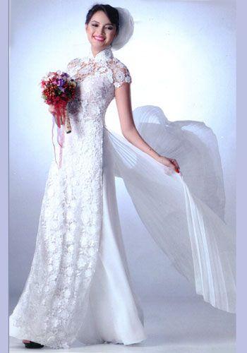 Wedding Dresses  Vietnam : Gallery for gt modern vietnamese wedding dress